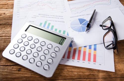 מחשבון וגרפים של משכנתאות